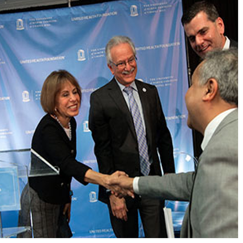 "A three-year, $1.6 million grant from United Health Foundation to UNC-Chapel Hill will create ""Project ENABLE,"" the Extensible Network-Accessible Biomedical & Health Informatics Lifelong Learning Environment."