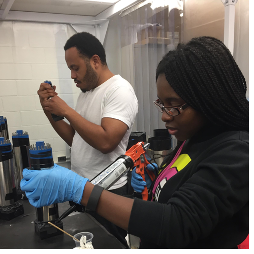 North Carolina Central University (NCCU) has formed a partnership with Triangle Universities Nuclear Laboratory (TUNL), a U.S. Department of Energy Center of Excellence in nuclear research.