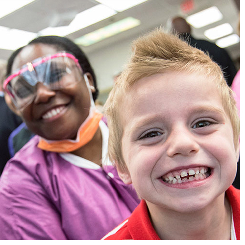 ECU dental students and residents launch families toward improved oral health