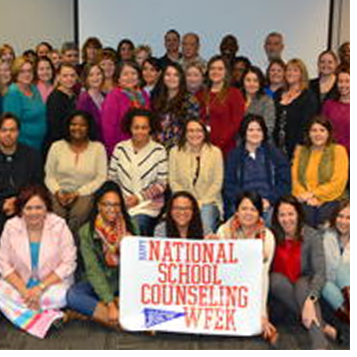 UNCP provides professional development to counselors in local school districts