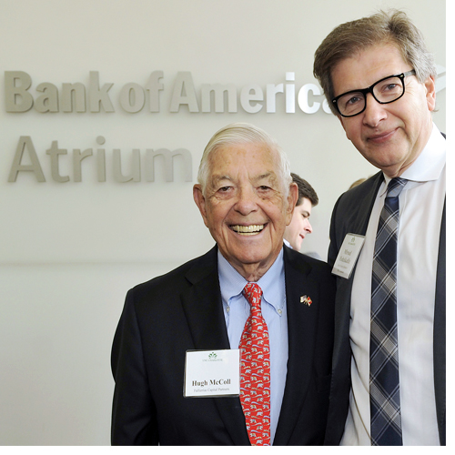 Bank of America gift supports Data Science Initiative, lecture series