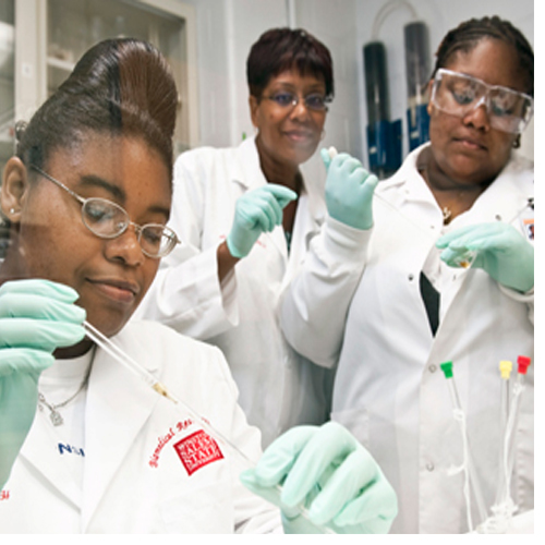 Dr. Stephanie Dance-Barnes knows that science starts in the lab.