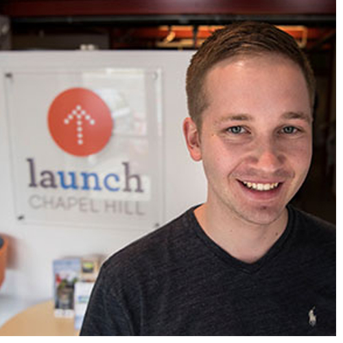 Brent Comstock was the student entrepreneur in residence at Launch Chapel HIll, a start-up accelerator program, where he provided professional guidance to help students with their companies and ideas.