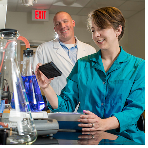 Jennifer McCall, a lecturer in the Department of Biology and Marine Biology at UNCW and CEO of SeaTox Research Inc.