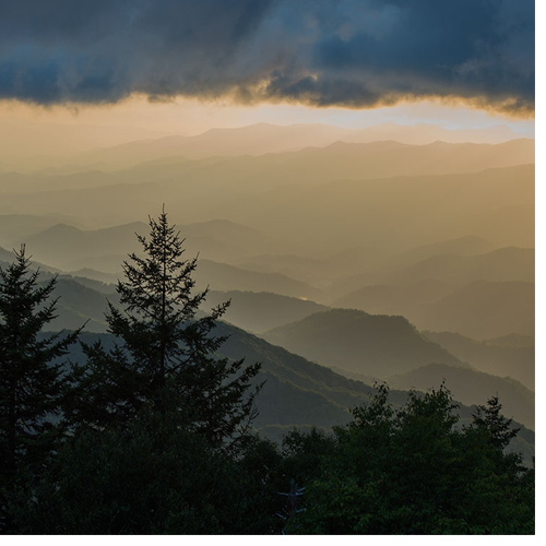 Dark storm clouds sometimes hover over the Smoky Mountains on summer afternoons, but WCU students are predicting a sunny season for the Western North Carolina tourism industry.