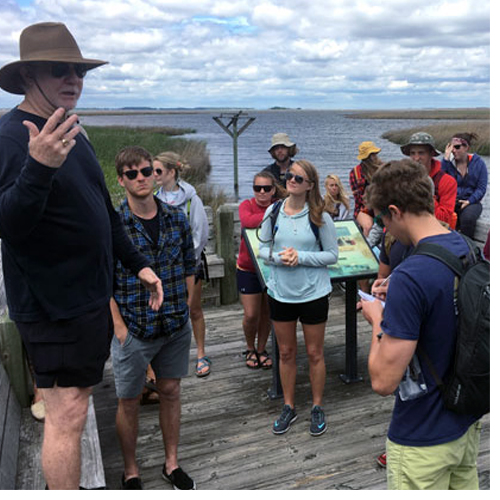 This spring, I spent two weeks traveling the North Carolina coast — from the Virginia border south to Wilmington — with 20 graduate and undergraduate students from the University of North Carolina Wilmington.
