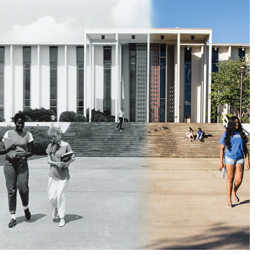 Ramsey Library has been central to the life of UNC Asheville since it was built in 1965.