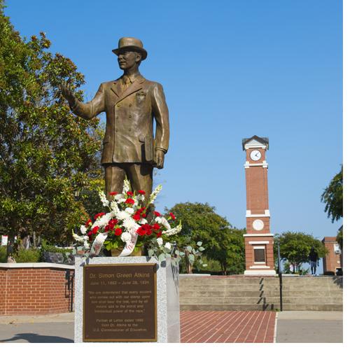 WSSU campus Image