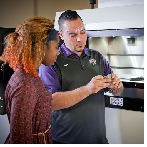 WCU's Rapid Center is fully equipped with professional software and hardware that meet or exceed industry standards for product design, development and testing.