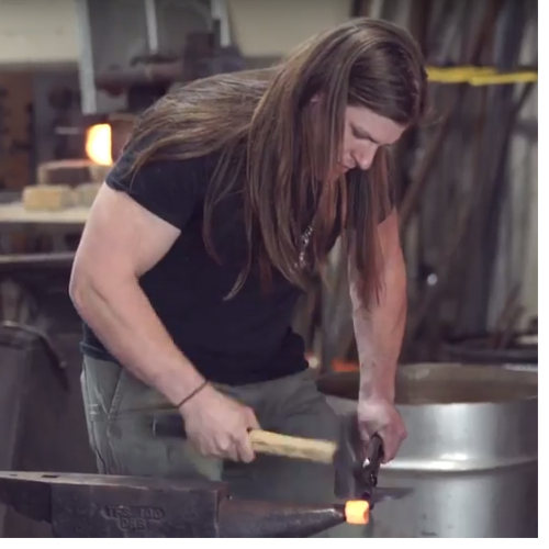 "Martin, a Western Carolina University alumnus, was a recent contestant on the History Channel's hit show ""Forged In Fire."""