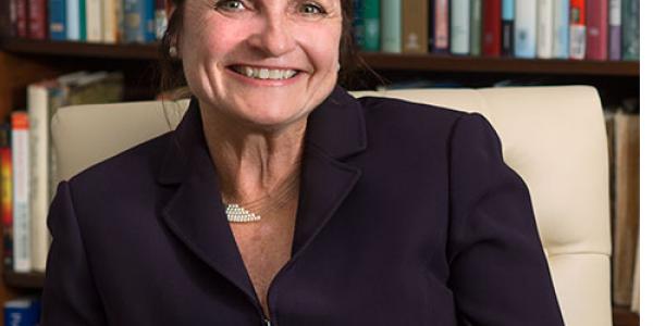 Western Carolina University English professor Mimi Fenton