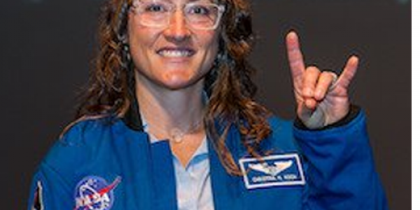 Christina Hammock Koch was chosen by NASA to be an astronaut