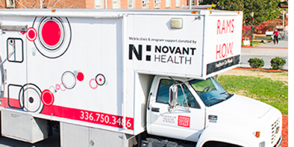 Since it launched in 2011 with funding from Novant Health, the Rams Know H.O.W. mobile clinic has served nearly 10,000 uninsured or underinsured residents.