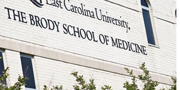 Brody School of Medicine (Photo by Gretchen Baugh)