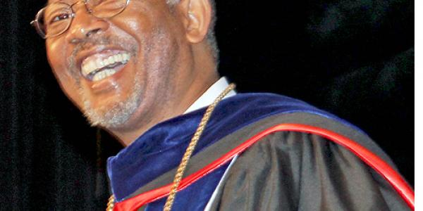 Thomas E.H. Conway, Jr. Installed as  Elizabeth City State University Chancellor