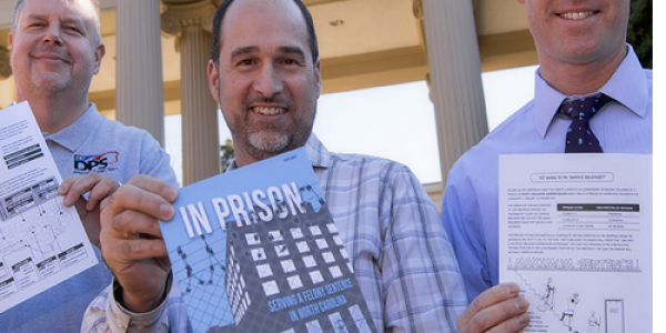 N.C. Department of Public Safety and University employees combined their talents to create the School of Government's first graphic book, which helps to explain the state prison system in words and pictures.
