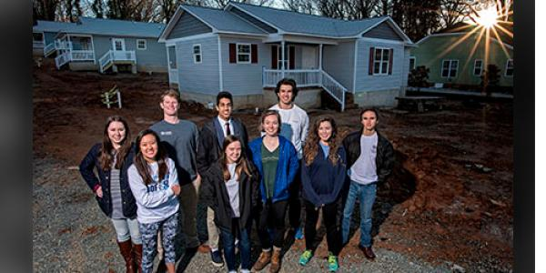 UNC chapter of Habitat for Humanity