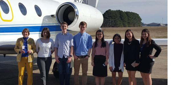 Two teams of NCSSM students visited Langley Research Center earlier this spring as part of the NASA Hunch program. Now, they are racing against a May deadline to built prototype hardware for potential flights to the International Space Station.