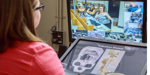 Forensic science instructor Candice Chambers is a huge fan of using gaming as a learning tool.