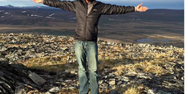 In 2015, Darius Bennett traveled to Nome, Alaska, to teach children about nutrition.