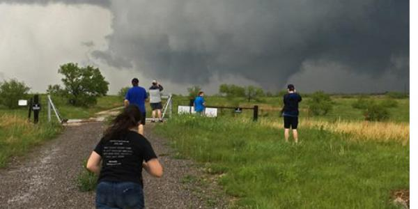 Tornado Chasers: Atmospheric Science Students Journey West to Chase Extreme Weather