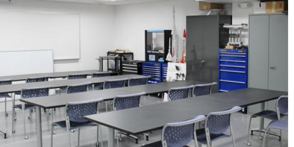 Image of classroom after improvements